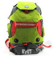 Рюкзак DC под ролики, цвет серый с зеленым, фото 1