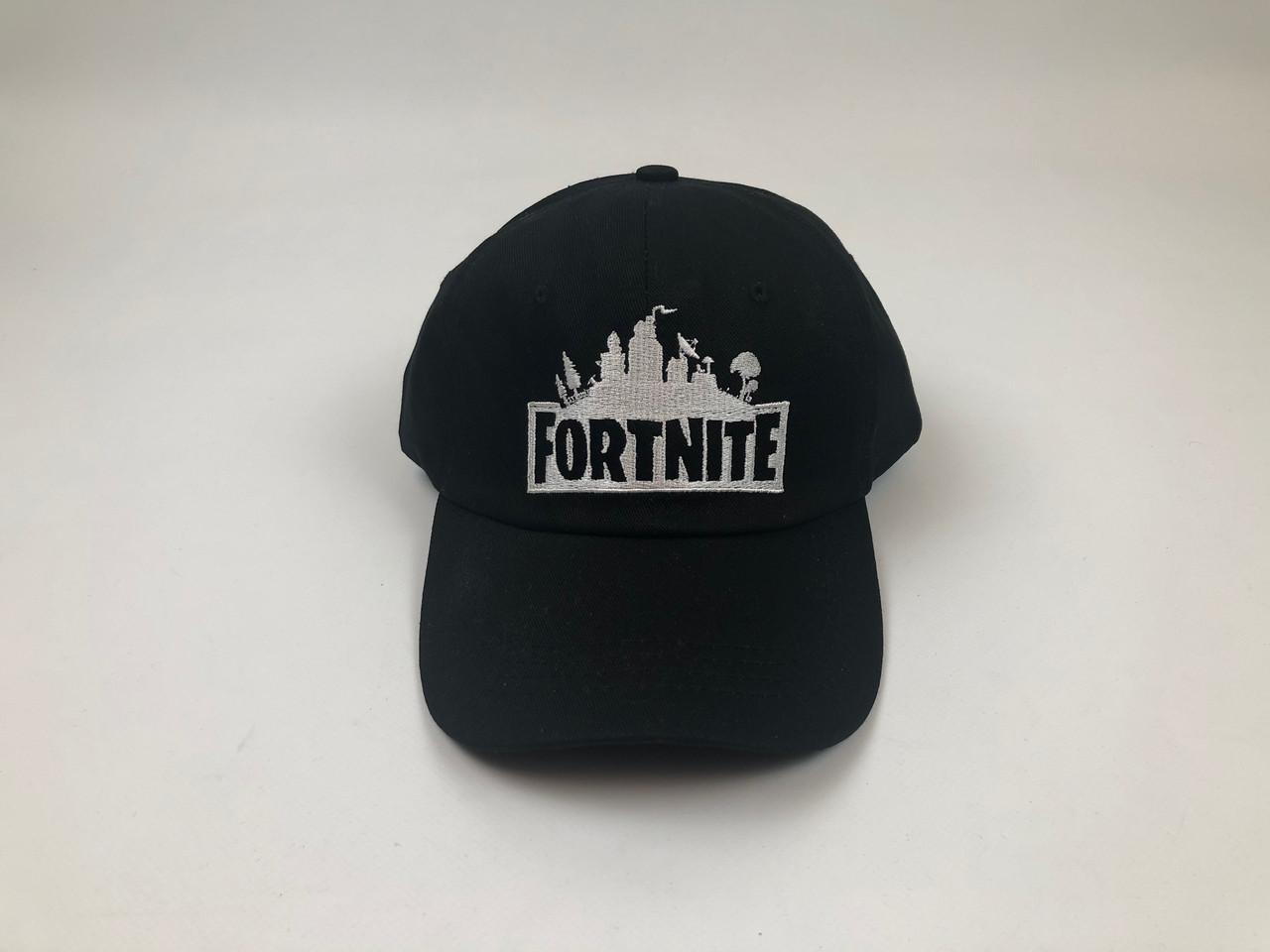 Кепка бейсболка - Fortnite (Черный)
