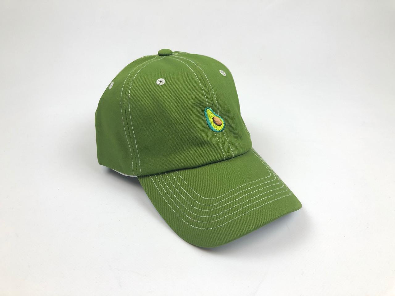 Кепка бейсболка Fresh Fruit Авокадо (зеленая)