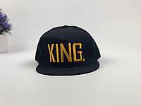 Снэпбек King  - черный, золотое лого, фото 1