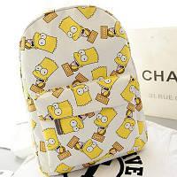 Рюкзак Симпсон Барт - Светло-бежевый, фото 1