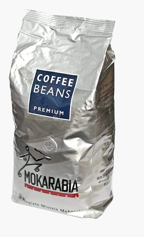 Кава в зернах Mokarabia Premium 50/50 1кг Італія. 100% Оригінал