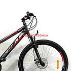 Подростковый велосипед Azimut Hiland 24 GD черно-красный, фото 3