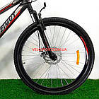 Подростковый велосипед Azimut Hiland 24 GD черно-красный, фото 4