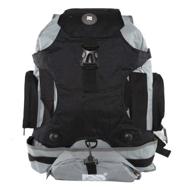 Рюкзак серый под ролики