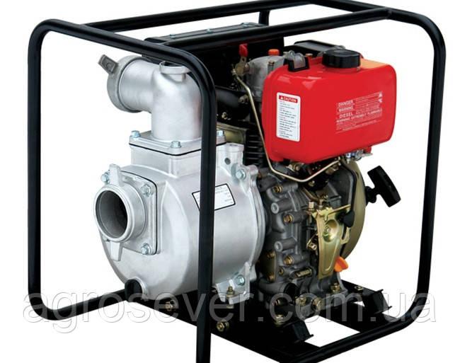Мотопомпа дизельная WEIMA  WMCGZ100-30E (Электростартер)