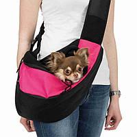 Trixie (Трикси) Sling Front Carrier Сумка переноска Слинг для собак до 5 кг (50 × 25 × 18 см), фото 1