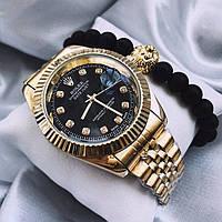 Часы Rolex Date Just, женские мужские часы ролекс, золотий чоловічий, жіночий годинник