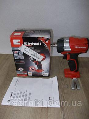 Ударный бесщеточный аккумуляторный гайковерт Einhell TE-CW 18 Li BL Solo, фото 2
