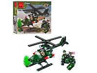 """Конструктор """"Вертолёт-преследователь"""" Brick 806, 119 деталей"""
