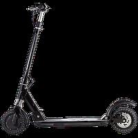 Электросамокат SNS T9, колёса 8дюймов черный, (красный). Дисплей, фара, рычаг газа. Мотор 350W, до 100кг.