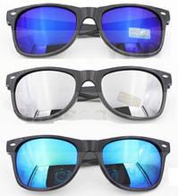 Очки солнцезащитные Сolorful зеркальные форма Wayfarer RB2140