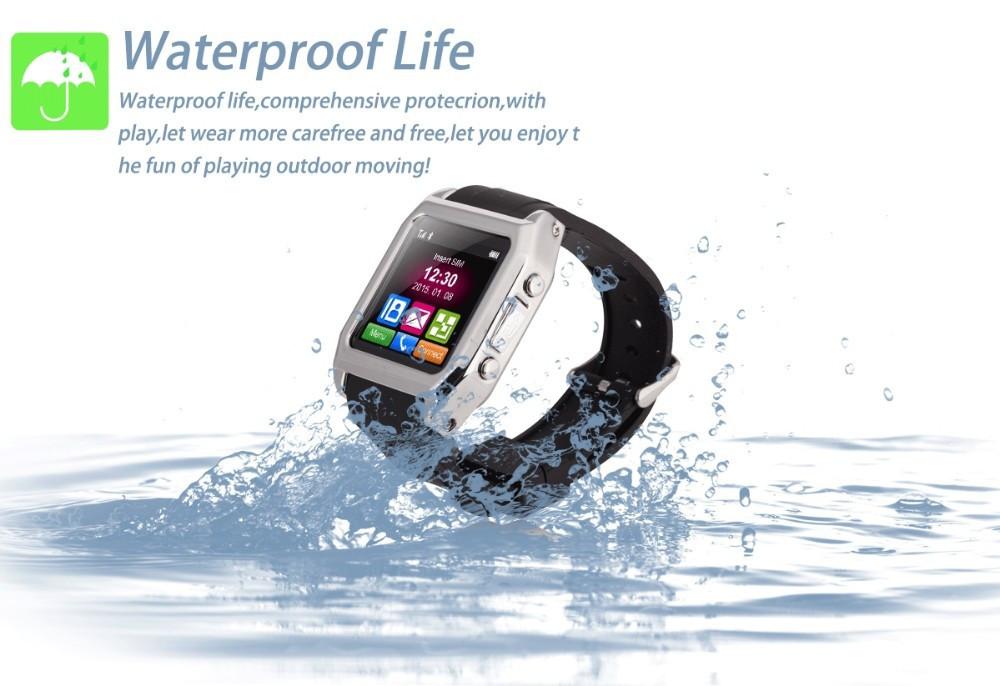 Влагозащищенные телефон-часы TW530D