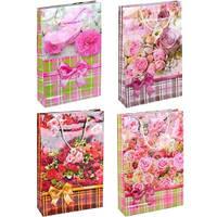 Пакет цветной большой «Розы»