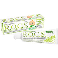 Детская зубная паста R.O.C.S. Baby Нежный уход Душистая ромашка 45 г 03-01-026