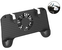Геймпад с вентилятором и повербанком 2000mAh Seuno F1 триггеры для Pubg mobile