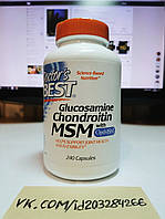 Doctor's Best Glucosamine Chondroitin MSM 240 капс
