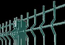 Столб для Ограждения высота 2м