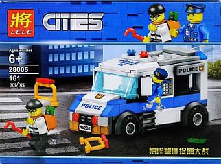 Конструктор Lele Cities Мобильная тюрьма 161 дет. (28005)