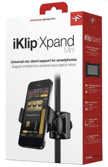 IK MULTIMEDIA iKLIP Xpand Mini держатель для установки смартфона на микрофонную стойку