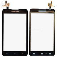 Сенсор (тачскрин) стекло для смартфона Lenovo A529 black