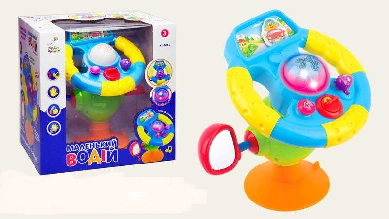 Розвиваюча іграшка Країна Іграшок Маленький водій (Маленький водій) зі світлом і звуком (KI-7036)