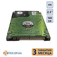 Жёсткий диск IDE 2,5 дюйма, 100 gb (б.у.)