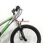 Подростковый велосипед Azimut Forest 24 GD серый, фото 2