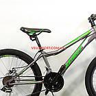 Подростковый велосипед Azimut Forest 24 GD серый, фото 4