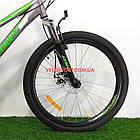 Подростковый велосипед Azimut Forest 24 GD серый, фото 3