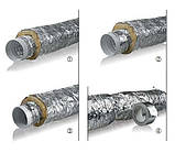 Гибкий воздуховод утепленный ММПУ 450мм (7,6 м/п), фото 2