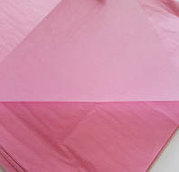 Бумага Тишью 50х75см (50 листов) Розовая