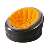 Велюр кресло 68582 (Оранжевый)