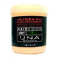 Маска для облегчения расчесывания волос с маслом жожоба Rolland UNA Hair Food Jojoba Oil Hair Treatment