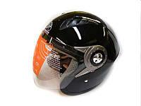 Мотошлем без челюсти MoтоTech WLT-202 черный, размер XL, фото 1