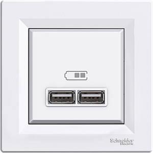 USB-розетка зарядное устройство Schneider Asfora