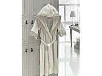 Набор Халат женский полотенца и тапочки  Margarete