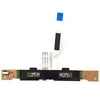 Плата кнопок тачпада HP Pavilion g4-2000, g6-2000, g7-2000 DA0R33TB6E0 REV:E (со шлейфом) БУ