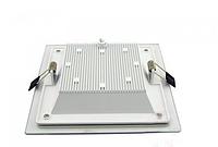 Врезной светодиодный светильник GL-Rim (квадратный) 12 W