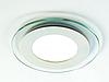 Стельовий вбудований світлодіодний світильник GL-Rim (круглий) 18 W