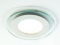 Стельовий вбудований світлодіодний світильник GL-Rim (круглий) 18 W, фото 1