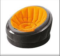 Велюр кресло 68582(Orange)
