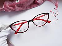 Женская оправа - очки  cateye  Corrado в матовом цветном пластике