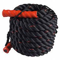 Канат для кроссфита SportVida Battle Rope 15 м SV-HK0173