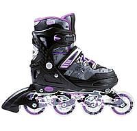 Роликовые коньки Nils Extreme NA1118A Size 31-34 Purple