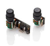 Бас-эквалайзер: Mid Frequency & Mid E.Q.(на одной ручке) + Bass & Treble (на другой ручке) EMG BQC CONTROL SL