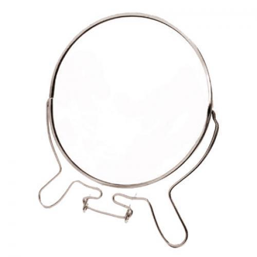 Зеркало двухстороннее круг металл S-8 20см