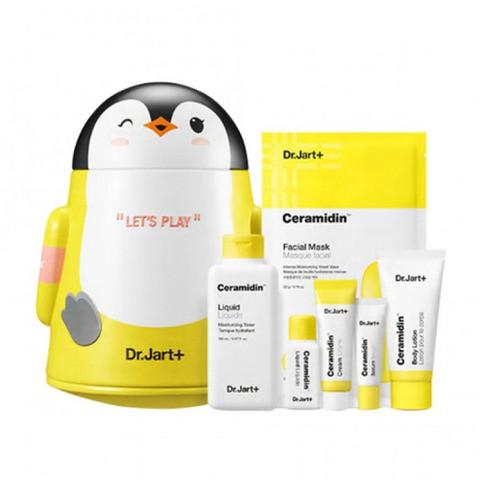 Уходовый набор с керамидами Dr.Jart+ Ceramidin Liquid 150мл Lets Play Set, Оригинал Корея