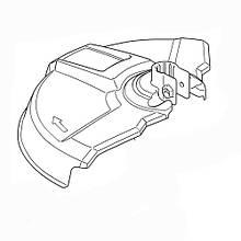Захисний кожух під косильні головки для UR3500, UR3501 Makita (YA00000544)