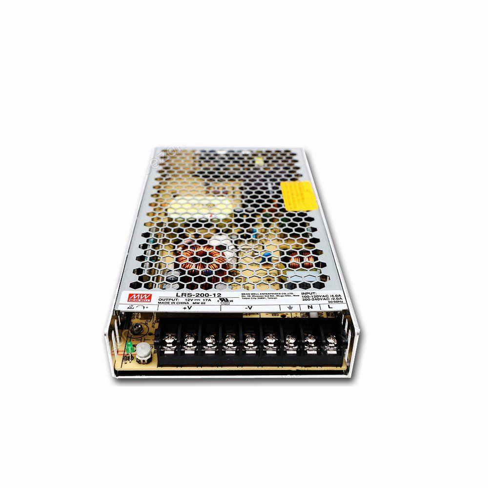 """Блок питания импульсный Mean Well 200W 12V (IP20, 17A) Series """"LRS"""""""